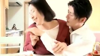 Mature Asian wives having passionate sex with their lovers