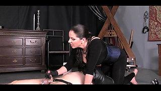 Mistress HUGE CUMSHOT
