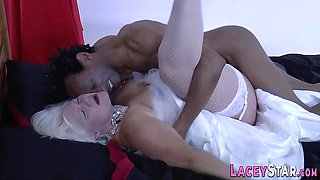 naughty British bride gran sixtynines and gets banged