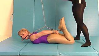 leotard wrestling girls