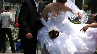 Real Naughty Brides!