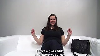 chubby big tit czech brunette fucking at casting by eliman