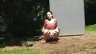Outdoor pee passion