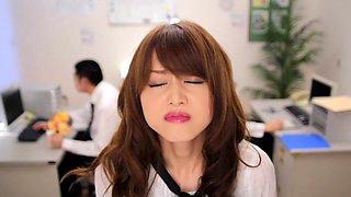 Exotic Japanese slut Akiho Yoshizawa in Incredible JAV censored Facial, Gangbang clip