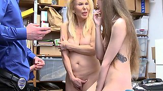 Cheating wife office and hardcore threesome slave Suspects