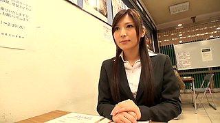Yuna Shiina in Female Teacher Yuna part 2.1
