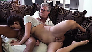 Teen strips for old and brutal young anal first time What