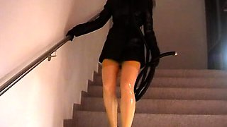 Fetish girls in latex using bdsm vibrators