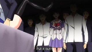Fabulous drama hentai video with uncensored bondage, group,