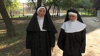 European free xxx movie with kinky nuns who love prick
