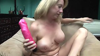 Hottest pornstar in incredible dildos/toys, solo adult movie