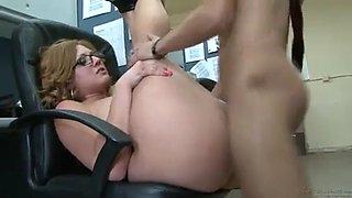 BEST AVA ROSE!! Phat ass office sex