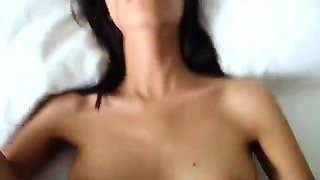 Up Close Pov Fuck With Innocent Brunette