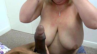 AgedLove Malon Marie loves big black cock