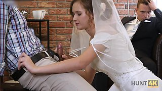 Dude watches his bride have sex with another man for some extra cash