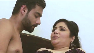 Horny Indian mom fucked hard by son's friend