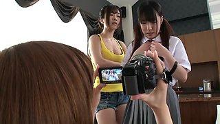 Fabulous Japanese girl in Hottest JAV censored Fingering, Big Tits video