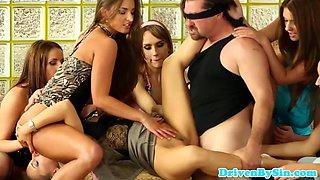 Peefetish eurobabes fuck blindfolded male