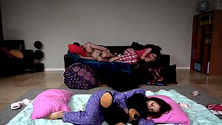 Teen home video first time Slumber Party With Stepdad