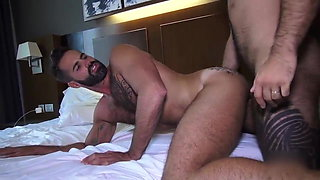 Hard dick in hand Teddy waits for Dani Robles