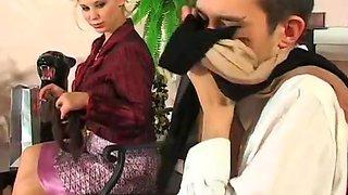 Russian big ass   big saggy tits pantyhose fucked