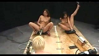 Girls squirting giant loads on Fucking Machines