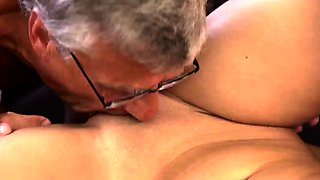 Daddy cum inside and old cuckold first time What would