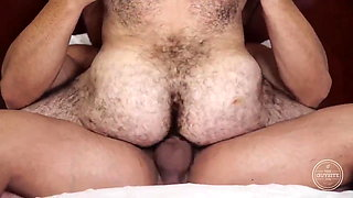 my hairy muscle lover