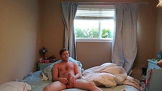 21yo Jack and 32yo Montanna Enjoying Hot Sex in Bed