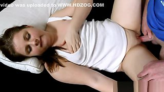 Young Brunette Girl Live Defloration - FreeFetishTVcom