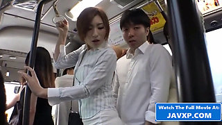 Asian Group Sex On The Public Bus Japanese JAV