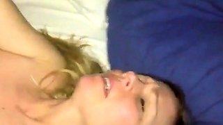 Blonde milf orgasm