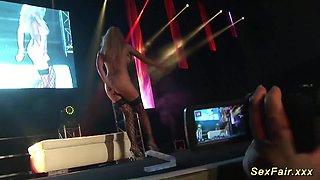 german stepmom naked on stage