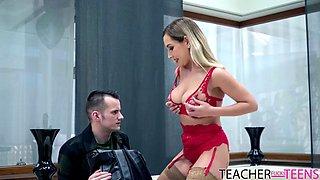 My hot busty teacher