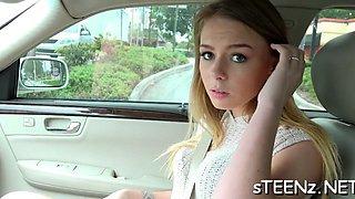 superb wang engulfung skills teen clip 1