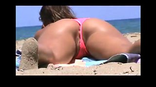 Tomando sol en la playa