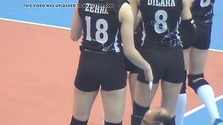 turkish volleyball girl zehra gunes (besiktas)
