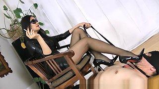 Horny Homemade video with Femdom, Smoking scenes