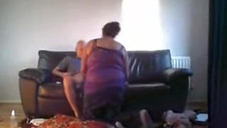 Bbw Mature Slutwife Was Filmed On Hidden Cam When Fucking Lover On Marriage Couch