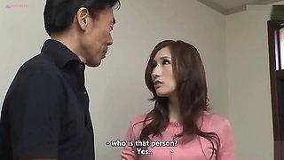 [English Subtitle JAV] I Want To Impregnate My Son's Wife -- Julia