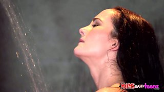 Super sexy milf Bianca Breeze fucks her stepdaughter and her perverted boyfriend