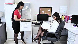 Hot Employees fucked by their stud boss
