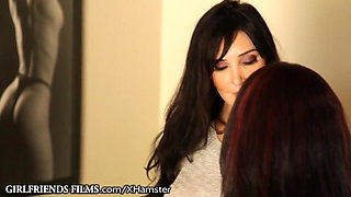 Lesbian MILF 69 with Real Estate Agent