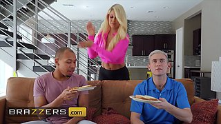 Brazzers Mommy Got Boobs Bridgette B Xander Corvus Ricky Johnson Two For One Special