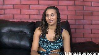 Confused latina