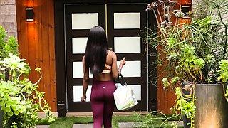 Sneaky Ebony Foot Sex With My Hot Neighbor