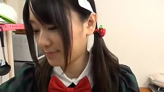 Incredible Japanese chick Nana Usami in Best College, Maid JAV video