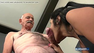 she wants grandpa big cock