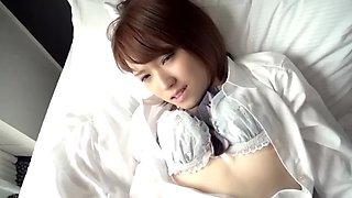 Cute schoolgirl sora