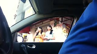 double flashing in the car 5